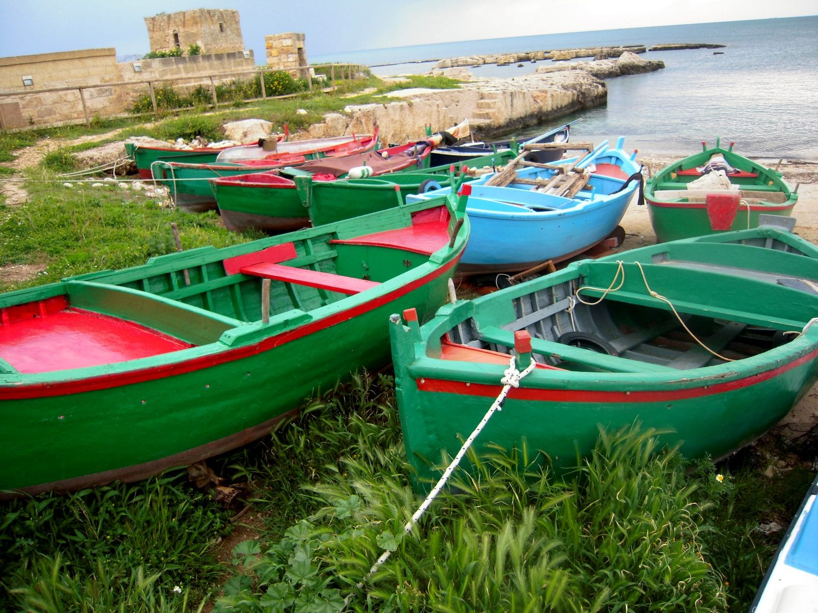 Travel to puglia italy with aliza green for a unique 7 for Green italy